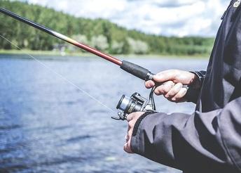 Fishing rod lake
