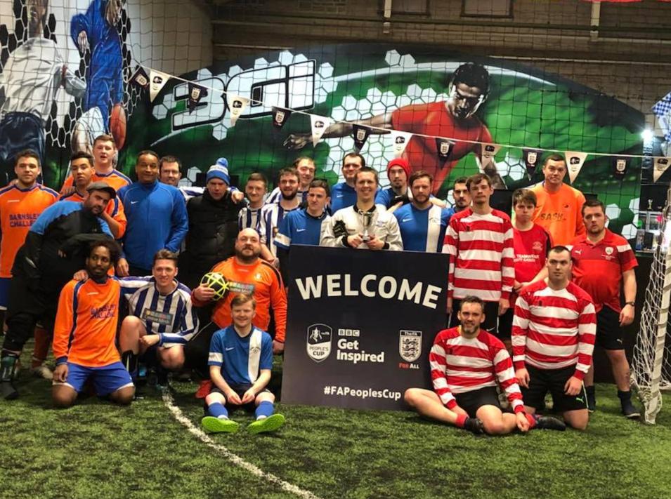 2018 People's FA Cup - semi finalists
