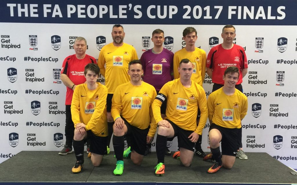 FA peoples Cup 2017 Finals Team photo