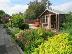 Garden, St Margaret's Care Home
