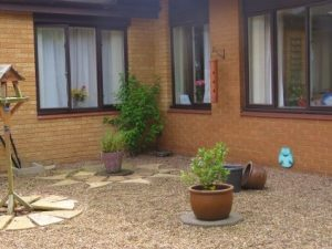 Sensory garden at care home